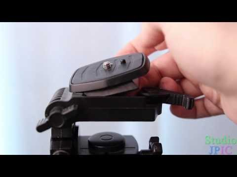 How to attach a camera to a tripod - Photo Tutorial 101 Take Control of your Camera - Episode 7