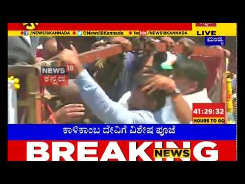 Darshan & Yash Arrive For Sumalatha's Last Day Campaign In Mandya