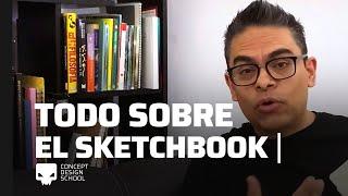 Todo sobre el sketchbook: tamaño, papel, usos.