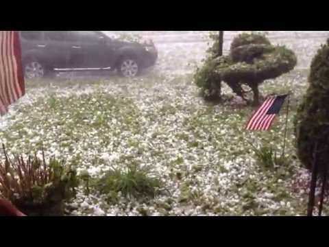 Hail Storm ~ May 22, 2014 ~ West Reading, PA