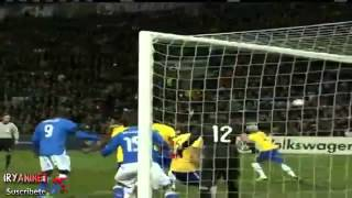 Brasile - Italia 2-2 hilites 21/03/2013