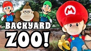 Baby Mario's Backyard Zoo!