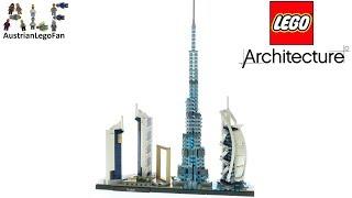 LEGO Architecture 21052 Dubai Skyline - Lego Speed Build Review