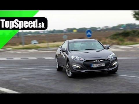 Test Hyundai Genesis Coupe V6 3.8 GDI TopSpeed.sk