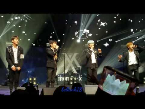 Monsta X Dallas (Opening ment+Ex-girl+White Love+ment)