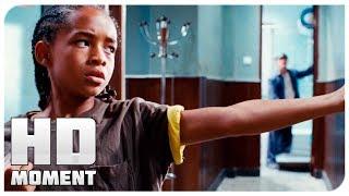 Дре учит карате по телевизору - Каратэ-пацан (2010) - Момент из фильма