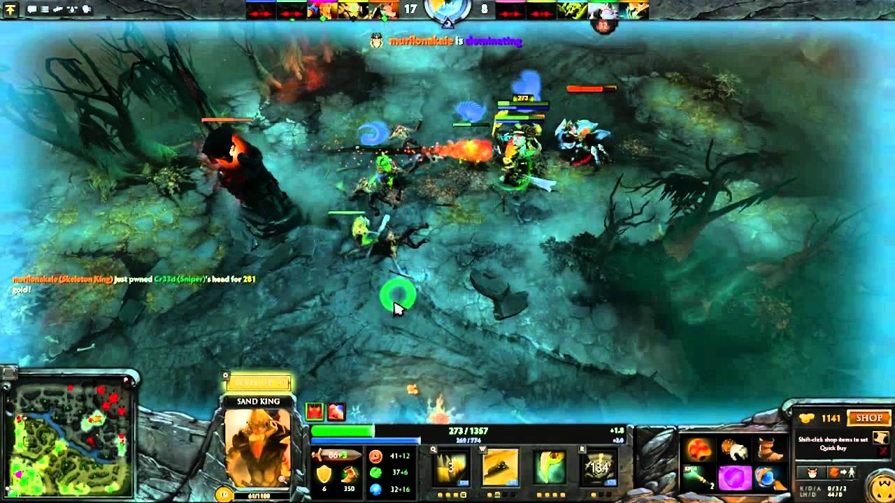 dota 2 gameplay my very first match ever youtube