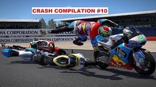 MotoGP 17 | Crash Compilation #10 | PC GAMEPLAY | TV REPLAY Moto2 game