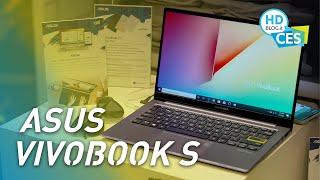 Asus VivoBook S (2020), vivaci e adatti a tutti | CES 2020