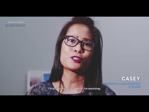 Casey - Testimonial on Sharon's cosmetic sales seminar