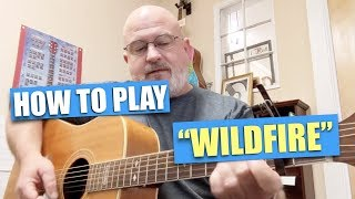 How to play Wildfire by Mandolin Orange on the Acoustic Guitar