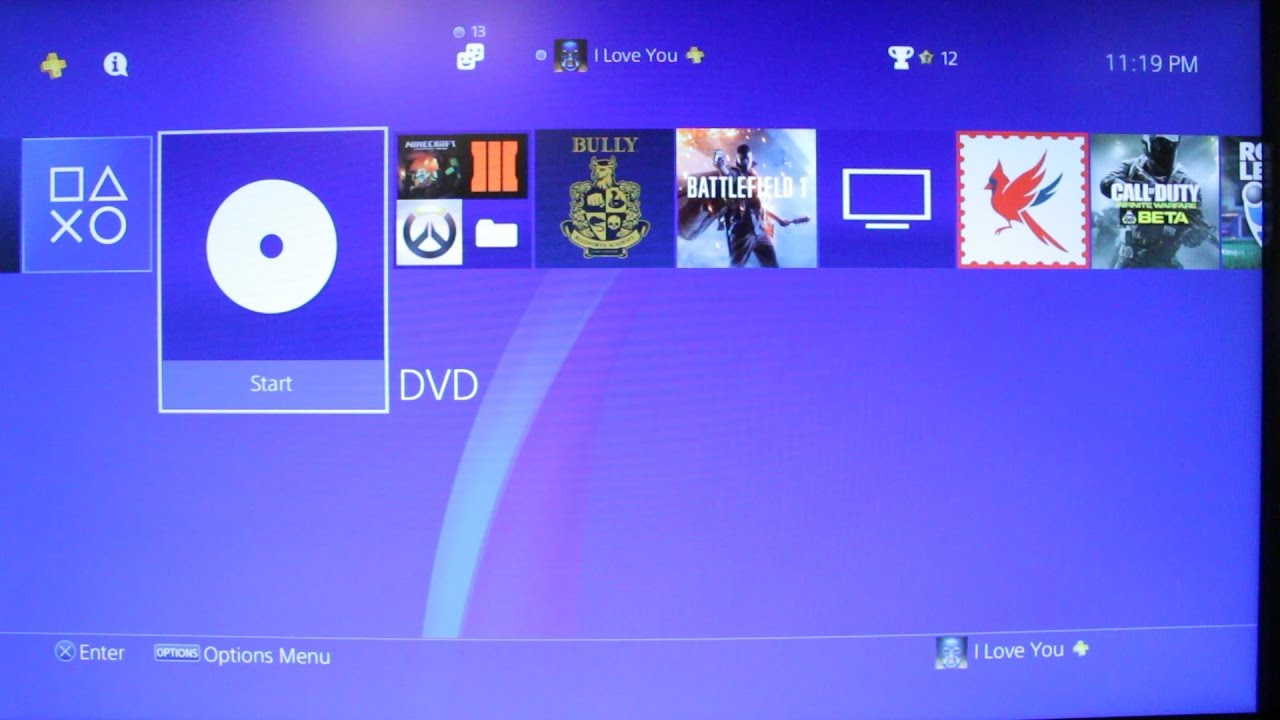 does ps4 play dvd and blu ray