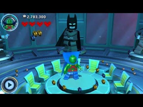 LEGO Batman 3: Beyond Gotham (3DS/Vita) 100% Guide - The Watchtower Hub Area