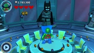 LEGO Batman 3: Beyond Gotham (3DS/Vita) 100% Guide - The Watchtower Hub Area