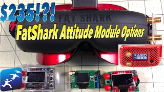 FatShark Attitude Module Bay Options, Goggles for $239, modules from $25 to $150