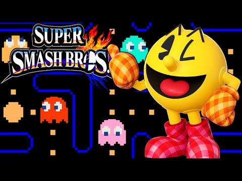 Super Smash Bros 4 3DS: Pac-Man Power! Character Unlock Classic Gameplay Walkthrough PART 2 Pacman