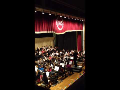 Pottsville Area DHH Lengel Middle school band 12/19/13