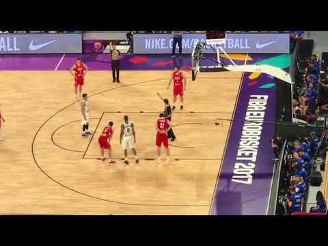 Eurobasket 2017 Final   Scenes    Goran Dragic Free Throws   Slovenija   Srbija in Istanbul, Turkey