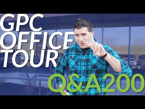 Goulet Q&A Episode 200: New Office Tour!