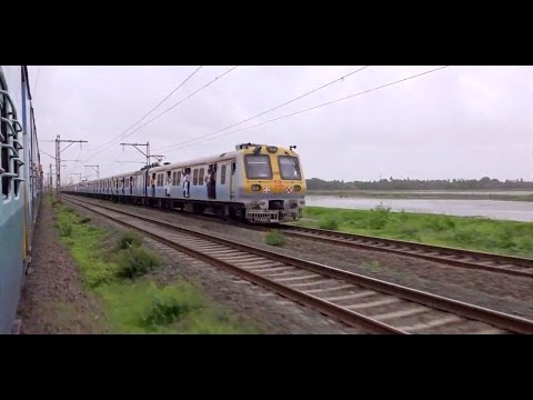 Incredible Monsoon Journey Onboard Vivek Express - Delightful Scenery, High Speed Station Skips Etc