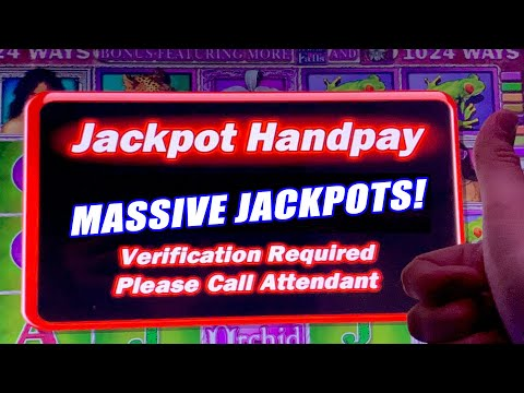 WHITE ORCHID HIGH LIMIT SLOT WINS! ★ MASSIVE $80 BETS! ➜ JACKPOT HANDPAY!