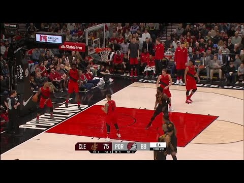 3rd Quarter, One Box Video: Portland Trail Blazers vs. Cleveland Cavaliers