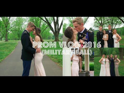 Thumbnail: PROM VLOG 2016 (MILITARY BALL) + GIVEAWAY WINNER