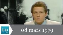 20h Antenne 2 du 08 mars 1979 - Manifestations à Denain - Archive INA