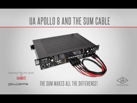 Universal Audio Apollo 8 & The SUM Cable | Pro Audio LA