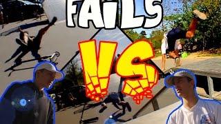 TSF - GAME OF SCOOT / Mateo KERDAL VS Arnaud HENRY *FAILS*