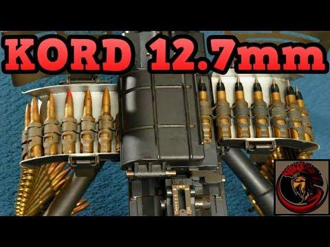 Kord 12.7mm Heavy Machine Gun   Russian Beast