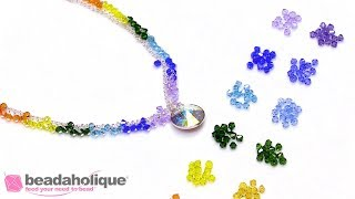 What are the Colors of the Rainbow in Swarovski Crystal