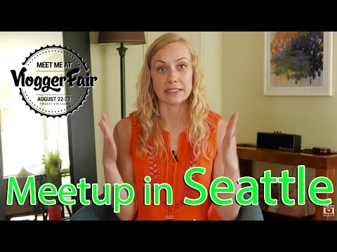 VloggerFair in Seattle!!! :) I can't wait to see you!