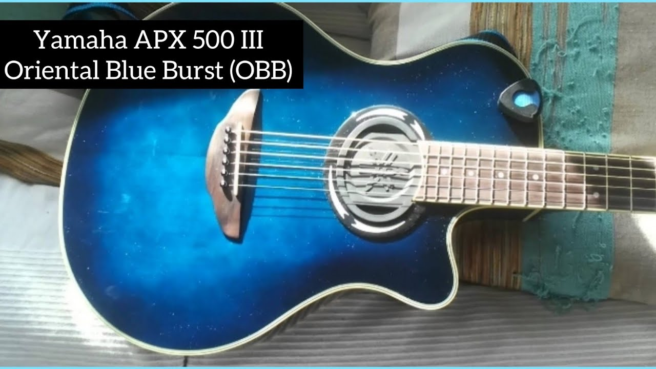 markyz yamaha apx500 iii oriental blue burst youtube. Black Bedroom Furniture Sets. Home Design Ideas
