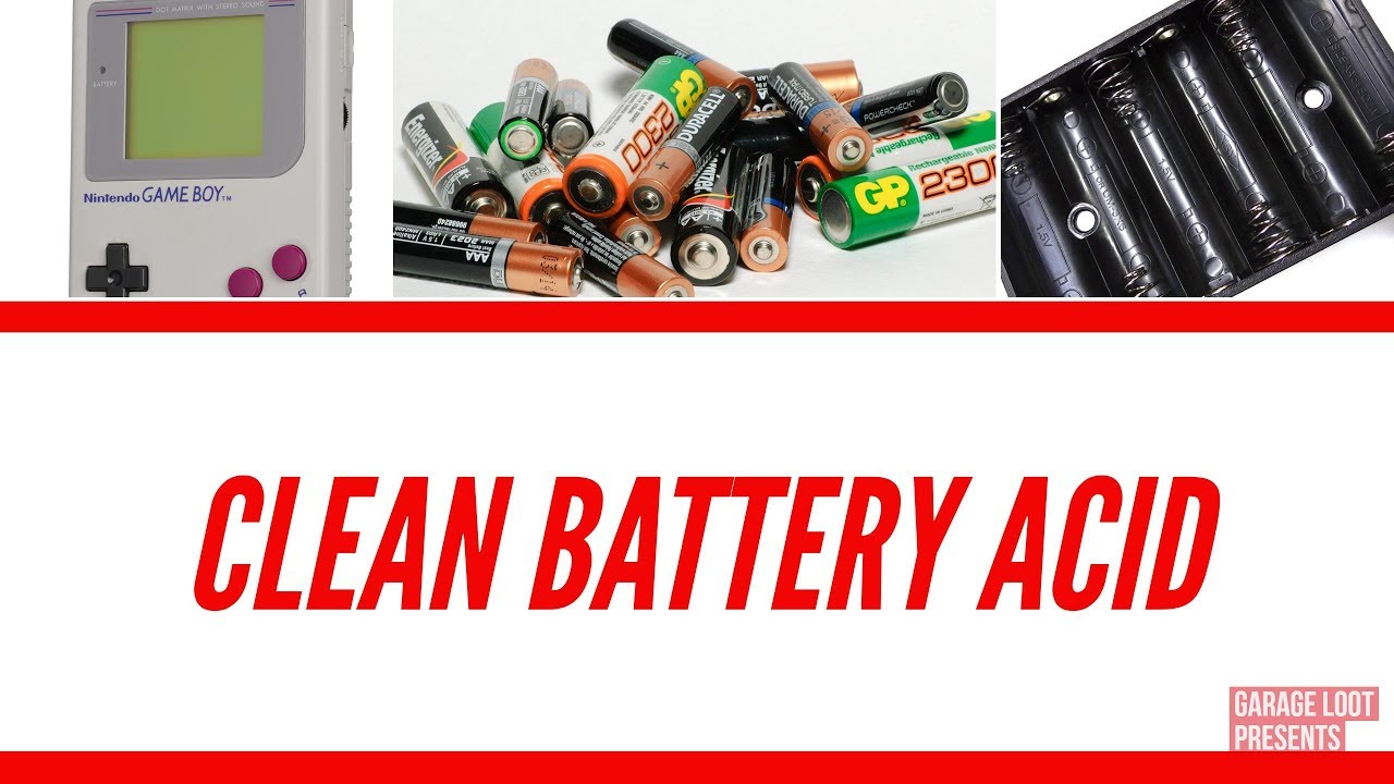 how to clean battery acid youtube. Black Bedroom Furniture Sets. Home Design Ideas
