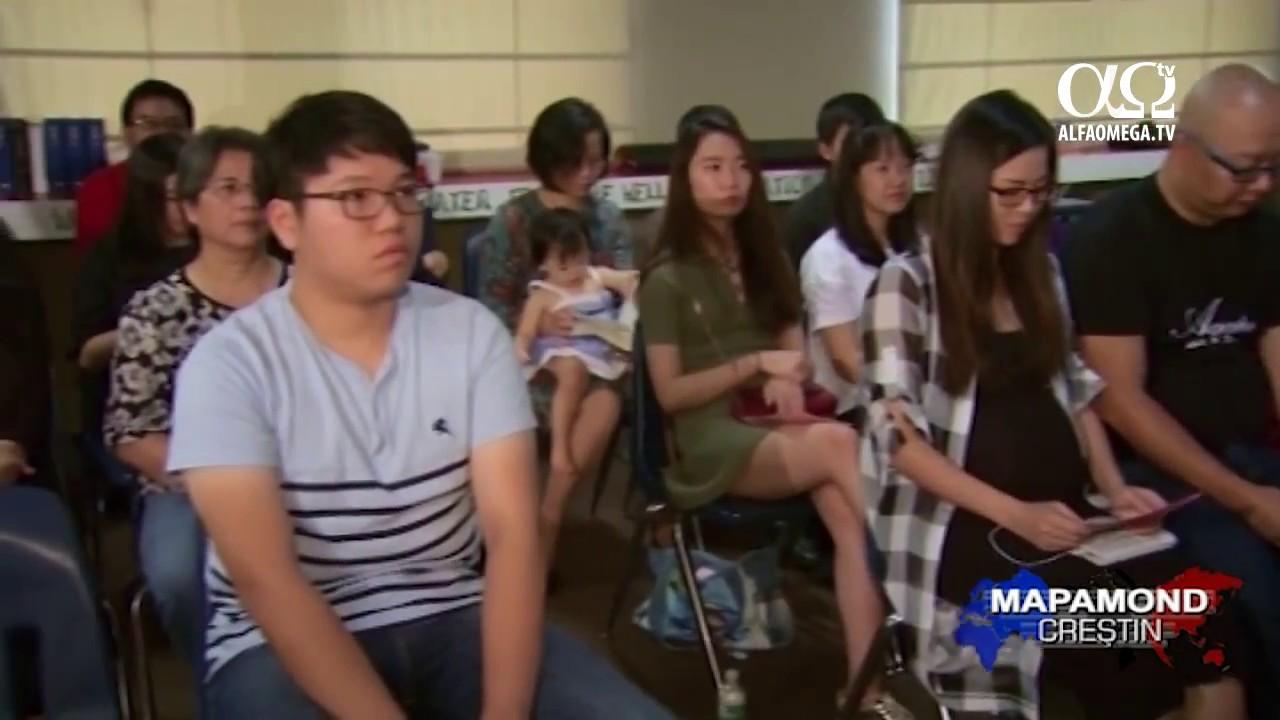 Lucrare de slujire in universitati americane, pentru studenții chinezi