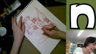 Sketching Warmup Demonstration-   Livestream April 2016