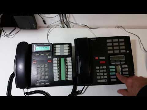 Transferring calls on Nortel Networks Norstar phones.