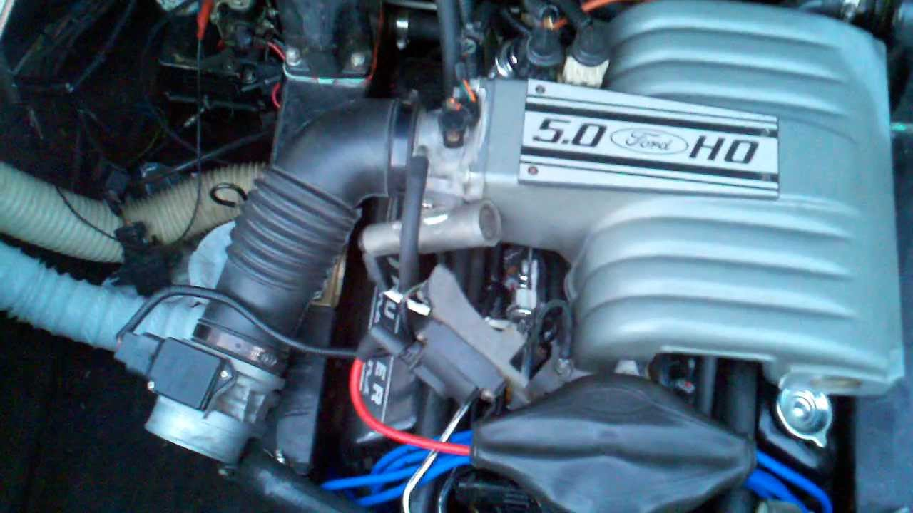 small resolution of 1975 leo v8 mercruiser 888 5 0 302 efi conversion eec iv a9l start run youtube