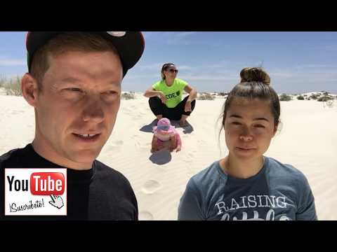 White Sands, New Mexico and US Border Patrol