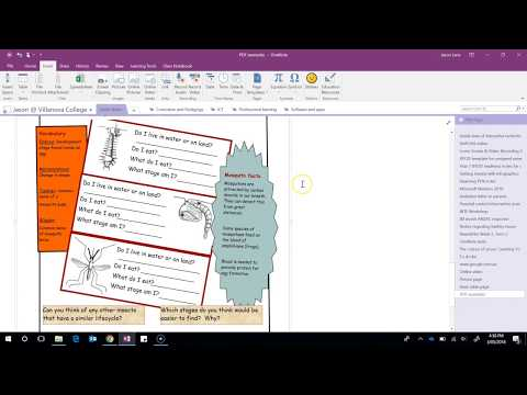 OneNote 2016: Working with PDF attachments and Print Outs