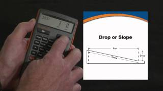 HeavyCalc Pro Drop, Slope and Percent Grade Calculations How To