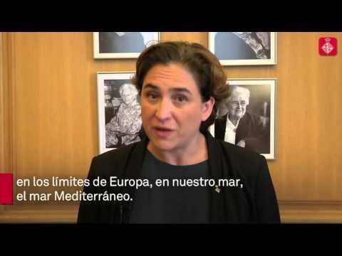 Mensaje a Lampedusa de Ada Colau