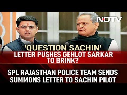 Sachin Pilot Says Enough, Ashok Gehlot Calls 9 PM Meet