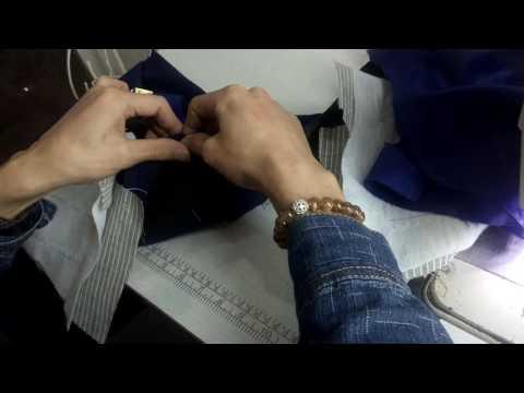 Hướng Dẫn Cách May Cổ áo Vest (Nam +nữ)- May Vai Con, Tra Cổ  Thân Sau-  Part 02- Cường Dạy May
