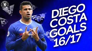 Diego Costa   All 20 Goals   2016/17 Premier League Winning Season