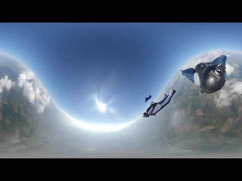 Wingsuit Virtual Reality Insta360 OneX