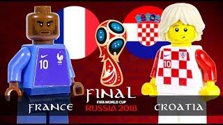 LEGO FINAL World Cup 2018 FRANCE Vs CROATIA