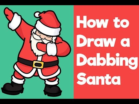 how to draw santa claus dabbing easy step by step drawing for beginners kids youtube how to draw santa claus dabbing easy step by step drawing for beginners kids