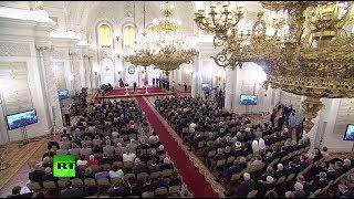 Путин вручает госпремии в области технологий, литературы и искусства
